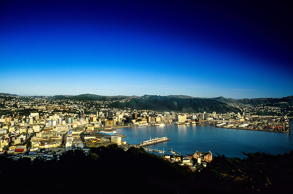 City overview, Wellington, New Zealand