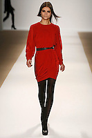 Lais Oliveira wearing Yigal Azrouel Fall 2009 Collection