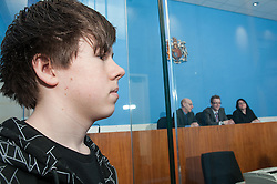 Defendant in the dock in Sheffield Magistrates' court