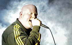 Rap artist Brother Ali performs at Minnesota State University in the CSU ballroom for fans during the spring concert.