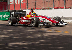 March 9, 2019 - St. Petersburg, FL, U.S. - ST. PETERSBURG, FL - MARCH 09: ( driver Rinus VeeKay (21) during the Indy Lights Race of St. Petersburg on March 9 in St. Petersburg, FL. (Photo by Andrew Bershaw/Icon Sportswire) (Credit Image: © Andrew Bershaw/Icon SMI via ZUMA Press)