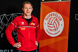 Daan van Haarlem, professional vv Utrecht during the talk show of the Dutch volleyball association. The association wants to start a professionalization process with which they want to strengthen recreational sport in the coming years on March 8, 2021 in Utrecht