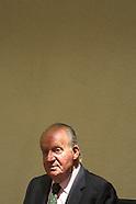 061314 King Juan Carlos of Spain attends his last audience like King of Spain
