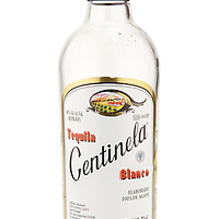 Centinela Blanco Tequila (old style bottle) -- Image originally appeared in the Tequila Matchmaker: http://tequilamatchmaker.com