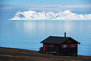 Summer cabin<br /> Longyearbyen<br /> Svalbard<br /> Norway<br /> Arctic Ocean