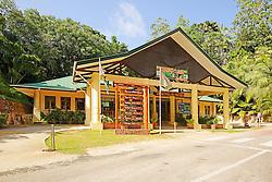 19.07.2015, Insel Praslin, SYC, auf den Seychellen, im Bild Eingang zum Vallee de Mai Nationalpark, Unesco Welterbe // Holiday on the Seychelles at the Insel Praslin, Seychelles on 2015/07/19. EXPA Pictures © 2015, PhotoCredit: EXPA/ Eibner-Pressefoto/ Schulz<br /> <br /> *****ATTENTION - OUT of GER*****