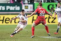 Raphael Lakafia - 28.12.2014 - Stade Francais / Racing Club Toulon - 14eme journee de Top 14<br />Photo : Aurelien Meunier / Icon Sport