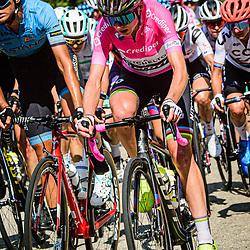 VAN VLEUTEN Annemiek ( NED ) – MITCHELTON SCOTT ( MTS ) - AUS – Hochformat – hoch – vertikal – Portrait - Event/Veranstaltung: Giro Rosa Iccrea - 4. Stage - Category/Kategorie: Cycling - Road Cycling - Cycling Tour - Elite Women - Location/Ort: Europe – Italy - Start: Assisi - Finish: Tivoli - Discipline: Cycling - Road Cycling - Cycling Tour - Road Race ( RR ) - Distance: 170,3 km - Date/Datum: 14.09.2020 – Monday - Photographer: © Arne Mill - frontalvision.com