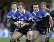 Bath, Somerset, UK., 1st February,  Zurich Premiership Rugby,  Recreation Ground The Rec.,  [Mandatory Credit: Peter Spurrier/Intersport Images], <br /> ZURICH PREMIERSHIP RUGBY Bath v Leicester Tigers<br /> Matt Perry