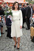 Koninginnedag 2010 . De Koninklijke familie in het zeeuwse  Middelburg. / Queensday 2010. De Royal Family in Middelburg.<br /> <br /> op de foto / on the photo Prinses Anita
