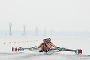 2005, World Rowing Championships, Nagaragawa International Regatta Course, Gifu, JAPAN: Monday  29.08.2005. FRA LW4X BowSolenne Giraudi, Coralie Ribeil, Caroline Freslon-Bette and Emmanuelle Sarda.  © Peter Spurrier/Intersport Images - email images@intersport-images.com