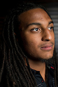 DALLAS, TX - JULY 21:  Texas Tech wide receiver Bradley Marquez poses for a portrait during the Big 12 Media Day on July 21, 2014 at the Omni Hotel in Dallas, Texas.  (Photo by Cooper Neill/Getty Images) *** Local Caption *** Bradley Marquez