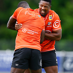 during the Cell C Sharks Training at the Surfers Paradise Rugby Union Club Gold Coast is a metropolitan region south of Brisbane on Australia's east coast.Australia, 25,020,2020 (Photo Steve Haag /HollywoodBets)