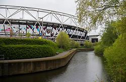 General View outside the London Stadium. - Mandatory by-line: Alex James/JMP - 29/04/2018 - FOOTBALL - London Stadium - London, England - West Ham United v Manchester City - Premier League