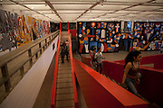 Sao Paulo_SP, Brasil...Imagens do MASP (Museu de Arte de Sao Paulo - Assis Chateaubriand). Na foto Mostra internacional de arte urbana contemporanea...Images of MASP (Museu de Arte de Sao Paulo - Assis Chateaubriand). In the photo shows urban contemporary international art...Foto: LUIZ FELIPE FERNANDES / NITRO