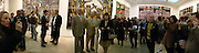 Gilbert ( shorter) and George. Gilbert and George SonOfAGod  Pictures. White Cube. 19  January 2006.  ONE TIME USE ONLY - DO NOT ARCHIVE  © Copyright Photograph by Dafydd Jones 66 Stockwell Park Rd. London SW9 0DA Tel 020 7733 0108 www.dafjones.com