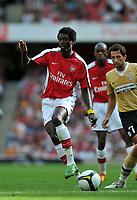 Photo: Tony Oudot/Richard Lane Photography. Arsenal v Juventus. Emirates Cup. 02/08/2008. <br /> Emmanuel Adebayor of Arsenal
