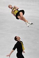 Evgenia TARASOVA, Vladimir MOROZOV RUS <br /> Silver Medal <br /> PAIRS FREE SKATING <br /> Milano 22/03/2018 Assago Forum <br /> Milano 2018 - ISU World Figure Skating Championships <br /> Foto Andrea Staccioli / Insidefoto