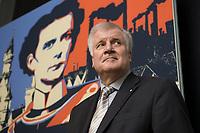 """11 MAY 2012, BERLIN/GERMANY:<br /> Horst Seehofer, CSU, Ministerpraeisdent Bayern, eroeffnet die Ausstellung """"Goetterdaemmerung - Koenig Ludwig II. und seine Zeit"""", Bundesrat<br /> IMAGE: 20120511-02-009"""