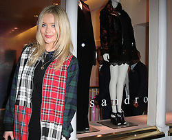 Laura Whitmore attends the Sandro flagship store launch party, London, England. Wednesday, 11th September 2013. Picture by i-Images