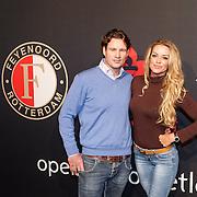 NLD/Rotterdam/20151207 - Reanimatiecursus Feyenoord selectie + bn'ers leren samen reanimeren, Inge de Bruijn en broer Matthijs