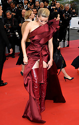 Amber Heard attending the Pain and Glory premiere, held at the Grand Theatre Lumiere during the 72nd Cannes Film Festival