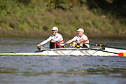 Crew: 21 - Adebiyi / Height - Tideway Scullers School - Op MasC/D 2x <br /> <br /> Pairs Head 2020