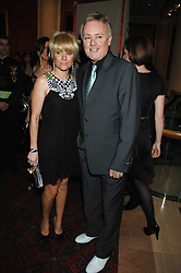 ROGER TAYLOR and his wife at the Feast of Albion a sumptious locally-sourced banquet in aid of The Soil Association held at The Guildhall, City of London on 12th March 2008.<br />