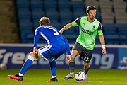 AFC Wimbledon midfielder Ethan Chislett (11) attacking the right wing during the EFL Sky Bet League 1 match between Gillingham and AFC Wimbledon at the MEMS Priestfield Stadium, Gillingham, England on 24 November 2020.