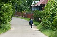 Okopy, podlaskie, 06.06.2010 N/z rodzinna wies ksiedza Jerzego Popieluszki ( urodzil sie tu w 1947 roku ) w dniu jego beatyfikacji fot Michal Kosc / AGENCJA WSCHOD