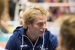 20151011 NED: Supercup VC Sneek - Sliedrecht Sport,  Doetinchem<br /> VC Sneek verslaat Sliedrecht Sport met 3-2 en pakt de eerste prijs van het seizoen / Matt van Wezel