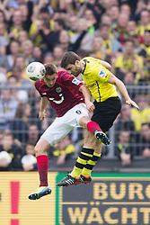 19.10.2013, Signal Iduna Park, Dortmund, GER, 1. FBL, Borussia Dortmund vs Hannover 96, 9. Runde, im Bild Zweikampf zwischen Artur Sobiech (#9 Hannover), Sokratis (#25 Dortmund)  // during the German Bundesliga 9th round match between Borussia Dortmund and Hannover 96 Signal Iduna Park in Dortmund, Germany on 2013/10/19. EXPA Pictures © 2013, PhotoCredit: EXPA/ Eibner-Pressefoto/ Kurth<br /> <br /> *****ATTENTION - OUT of GER*****