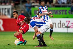 12-05-2018 NED: FC Utrecht - Heerenveen, Utrecht<br /> FC Utrecht win second match play off with 2-1 against Heerenveen and goes to the final play off / Urby Emanuelson #18 of FC Utrecht, Dave Bulthuis #14 of SC Heerenveen