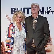 NL/Utrecht/20200929 - NFF filmpremiere Buiten is het Feest, Karin Bloemen en partner Marnix Busstra