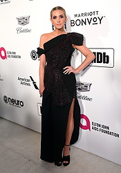 Ashlee Simpson attending the Elton John AIDS Foundation Viewing Party held at West Hollywood Park, Los Angeles, California, USA.
