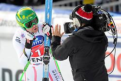 19.01.2013, Lauberhornabfahrt, Wengen, SUI, FIS Weltcup Ski Alpin, Abfahrt, Herren, im Bild Klaus Kroell (AUT) // reacts after his run of mens downhillrace of FIS Ski Alpine World Cup at the Lauberhorn downhill course, Wengen, Switzerland on 2013/01/19. EXPA Pictures © 2013, PhotoCredit: EXPA/ Freshfocus/ Urs Lindt..***** ATTENTION - for AUT, SLO, CRO, SRB, BIH only *****