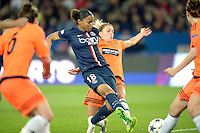 Goal de Marie Laure Delie  - 28.03.2015 - Paris Saint Germain / Glasgow City FC - 1/2 Finale retour Champions League<br /> Photo : Andre Ferreira / Icon Sport