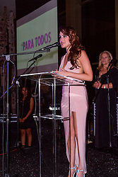 SANTA ANA, CA - OCT 10: Mexican actress and singer-songwriter Dulce Maria attends ParaTodos Magazine 20th Anniversary Gala at the Bower Museum on 10th of October, 2015 in Santa Ana, California. Byline, credit, TV usage, web usage or linkback must read SILVEXPHOTO.COM. Failure to byline correctly will incur double the agreed fee. Tel: +1 714 504 6870.