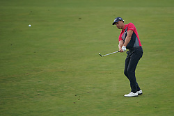 June 16, 2018 - Southampton, NY, USA - Henrik Stenson approaches the 16th green during the third round of the 2018 U.S. Open at Shinnecock Hills Country Club in Southampton, N.Y., on Saturday, June 16, 2018. (Credit Image: © Brian Ciancio/TNS via ZUMA Wire)