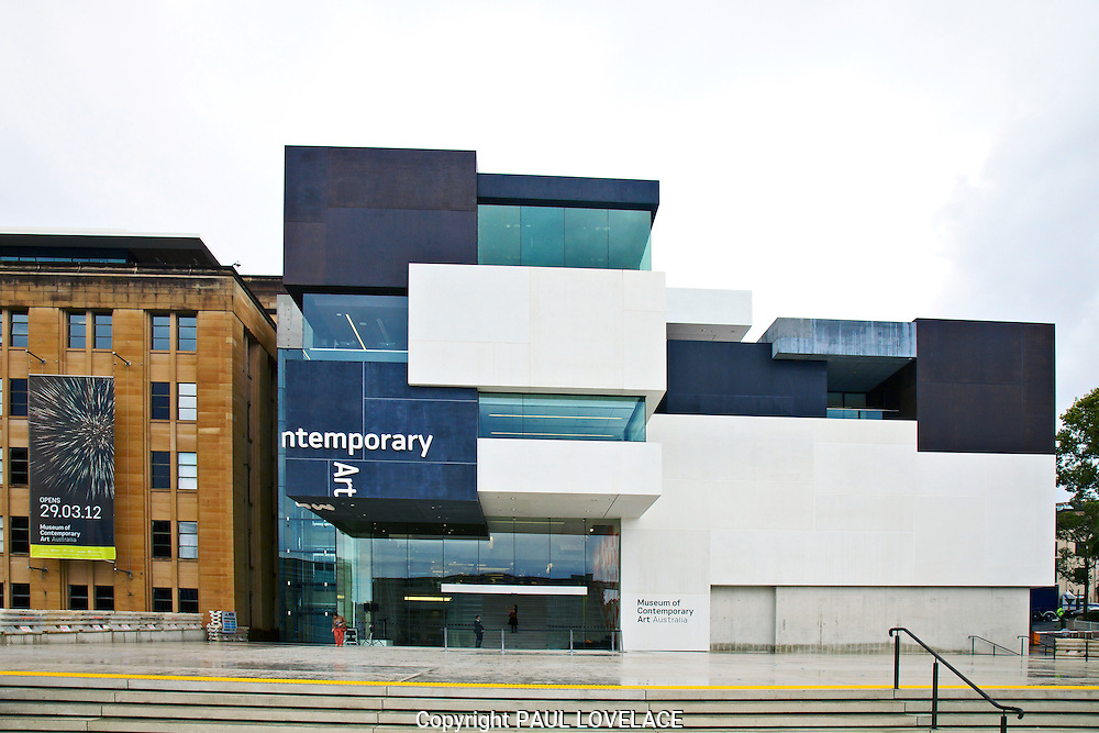 The new Museum of Contemporary Art, Sydney Australia opens today.