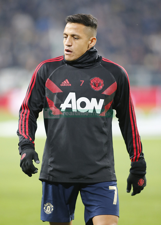 November 7, 2018 - Turin, Italy - Alexis Snchez during Champions League match between Juventus v Manchester United, in Turin, on November 7, 2018. (Credit Image: © Loris Roselli/NurPhoto via ZUMA Press)