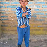 A Lenca boy in Santa Elena, La Paz