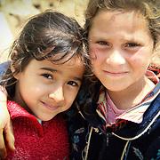 Two affectionate friends. Dahab Island, Cairo.