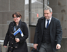 Former SNP MP Natalie McGarry appears for sentencing, Glasgow,  6 June 2019