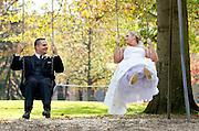 The wedding of Tamera Anglin and Robert Parro at Boardman Park on October 15, 2011.