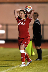 Corinne Yorston defender for Bristol City Women - Mandatory by-line: Paul Knight/JMP - Mobile: 07966 386802 - 23/02/2016 -  FOOTBALL - Stoke Gifford Stadium - Bristol, England -  Bristol City Women v Notts County Ladies - Pre-season friendly