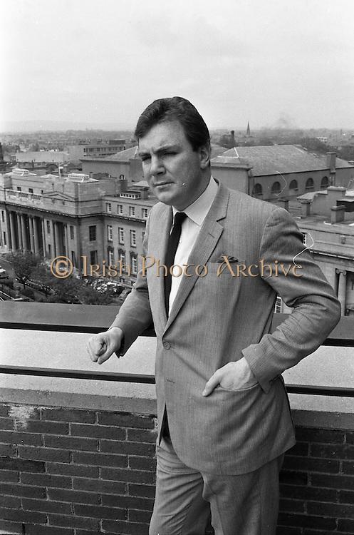 21/05/1968<br /> 05/21/1968<br /> 21 May 1968<br /> Tony O'Reilly Managing Director of Irish Sugar Co. at his office at Irish Sugar Co. headquarters The Sugar Company at Earlsfort Terrace, Dublin.