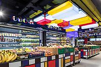 """Фотосъемка интерьера супермаркета """"Сильпо"""" в г. Калуш, Украина. 2021 г."""
