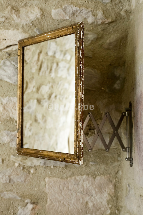 mirror on a wall