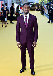 Aml Ameen attending the Yardie premiere at the BFI Southbank in London.